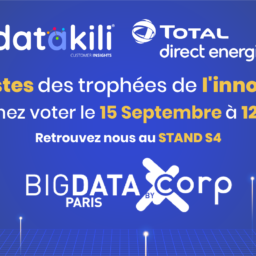 datakili® et Total Direct Energie finalistes aux trophées de l'innovation Big Data.