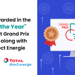 """datakili was rewarded in the """"Tech of the Year"""" category at Grand Prix DataCréa along with Total Direct Energie"""