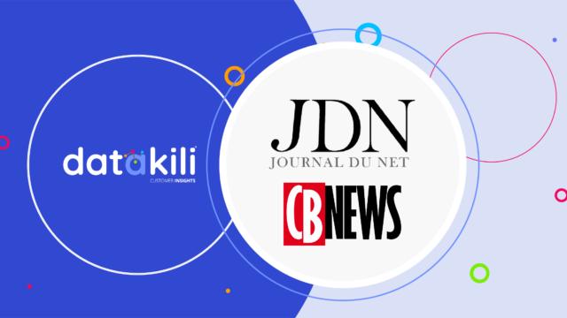 datakili à l'honneur dans le Journal du Net et son magazine CB News