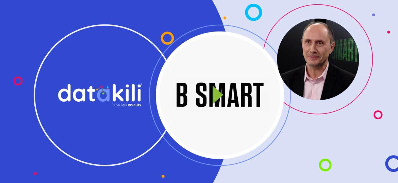 Interview d'Arnaud Contival dans l'émission Smart Tech de B Smart
